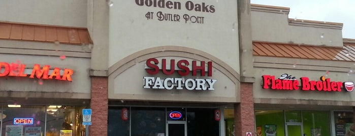 Sushi Factory is one of The 15 Best Japanese Restaurants in Jacksonville.