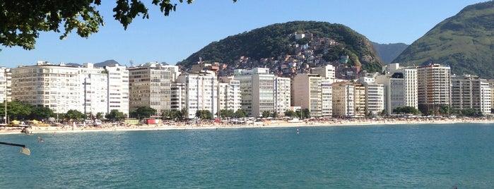 Forte de Copacabana is one of Comida & Diversão RJ.