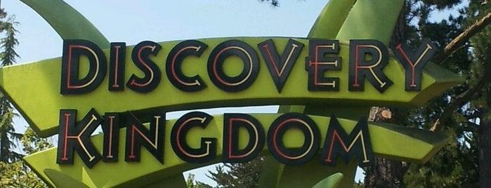 Six Flags Discovery Kingdom is one of Cali + Vegas trip 2012.