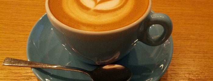 Prufrock Coffee is one of London's Best Coffee - 2013.