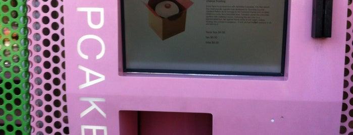 Sprinkles Cupcakes ATM is one of Dee's LA favorites.