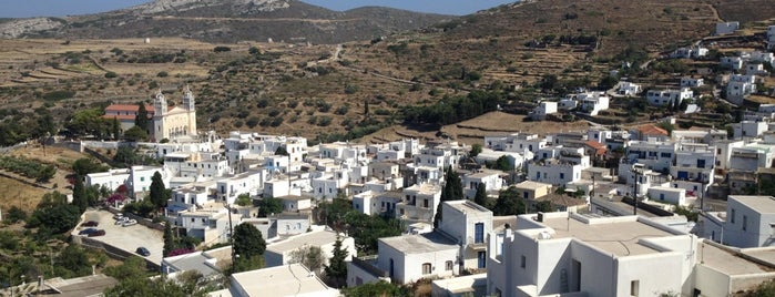 Lefkes is one of Paros Top.