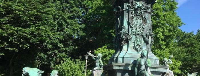 Neptunbrunnen is one of Nürnberg, Deutschland (Nuremberg, Germany).