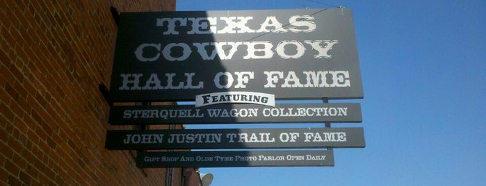 Texas Cowboy Hall of Fame is one of Willow Park, Texas Spots.