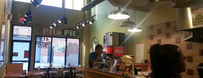 Pita Pit is one of Restaurants in baltimore.