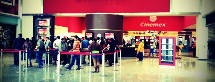 Cinemex is one of Centro-Roma-Condesa-Polanco.