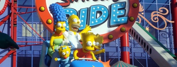 The Simpsons Ride is one of Done it.