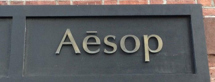 Aēsop is one of Prosume Manhattan.