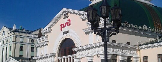 Ж/Д Вокзал Красноярск-Пассажирский|Krasnoyarsk Railway Station is one of Russian Railways Russia.
