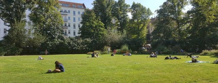 Arkonaplatz is one of Berlin.