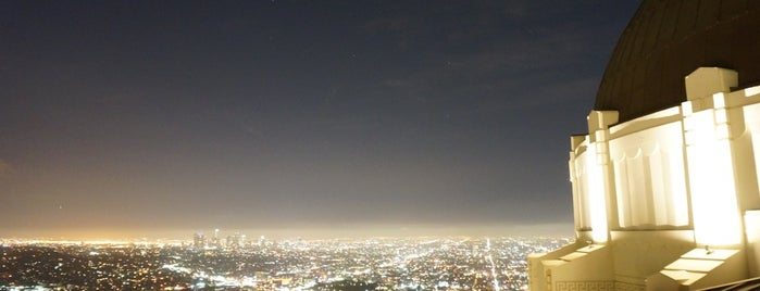 Griffith Observatory is one of California..