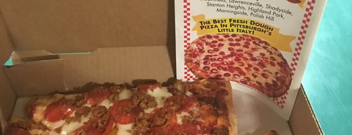 Angelo's Pizza is one of Experience Bloomfield!.
