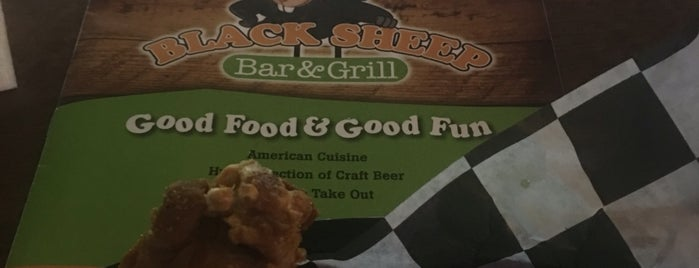 Black Sheep Bar & Grill is one of Watering Holes.