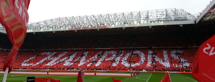 Old Trafford is one of Bucket List ☺.