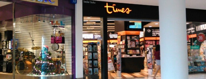 Times Bookstores is one of Gurney Paragon.