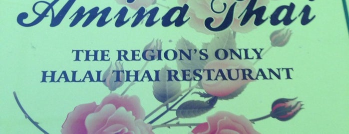 Amina Thai is one of Tasty Bites and Sips.