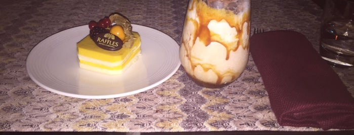 Reffles Creamery is one of Must visit Place and Food in Saudi Arabia.