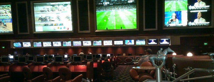 Bellagio Race And Sports Book Is One Of The 15 Best Sports Bars In Las Vegas