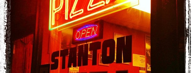 Stanton Pizza is one of Good.