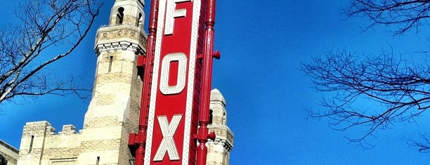 The Fox Theatre is one of Summer in Georgia.