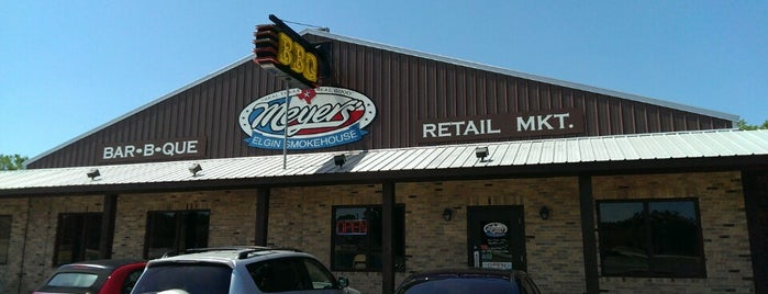 Meyer's Elgin Smokehouse is one of The BEST of Texas BBQ!.