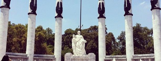 Monumento a los Niños Héroes is one of Distrito Federal - Foro Consultivo 2011.