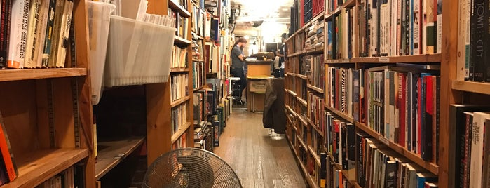 East Village Books is one of Bookeries.