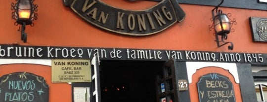 Van Koning is one of LUGARES VISITADOS.