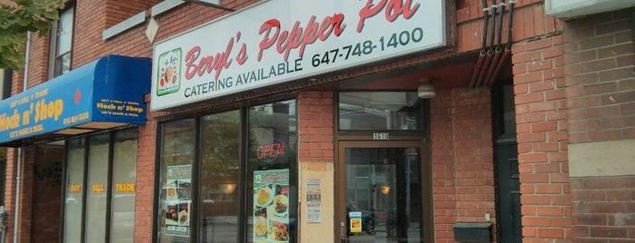 Beryl's Pepper Pot is one of Toronto.