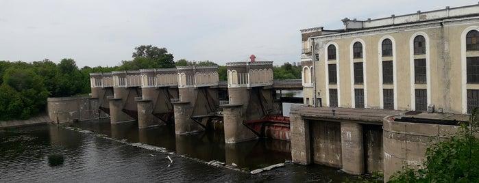 Карамышевская ГЭС is one of Eventually.