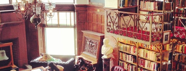 "A.D. White ""Harry Potter"" Library is one of Alyssa's Ithaca visit."
