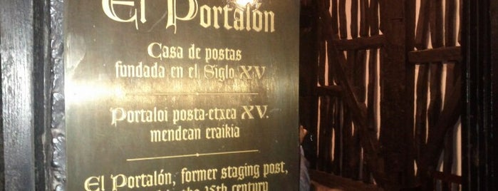El Portalón is one of Restaurantes en Vitoria-Gasteiz.