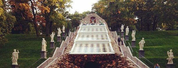 Шахматный фонтан is one of Интересное в Питере.