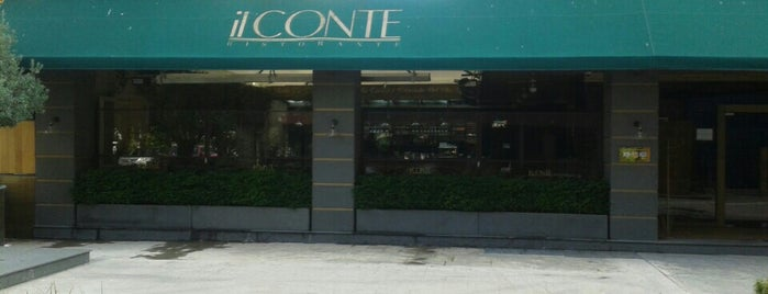 il CONTE Ristorante is one of My favourites for Cafes & Restaurants.