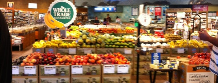 Whole Foods Market is one of Restaurants.