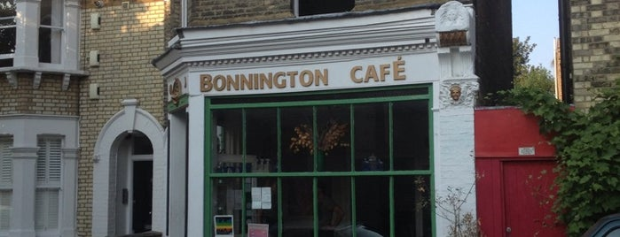 Bonnington Cafe is one of London // Alcohol Free.