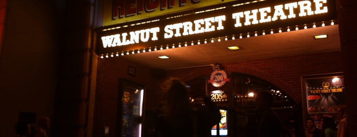 Walnut Street Theatre is one of My Philly Experience.