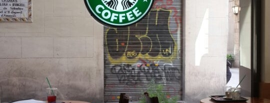 Starbucks is one of Barcelona.