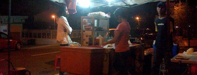 Along Johar Burger is one of makan @ KL #16.