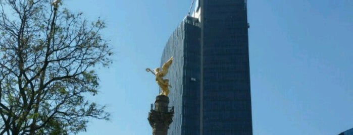 Ángel de La Independencia is one of Mexico City.
