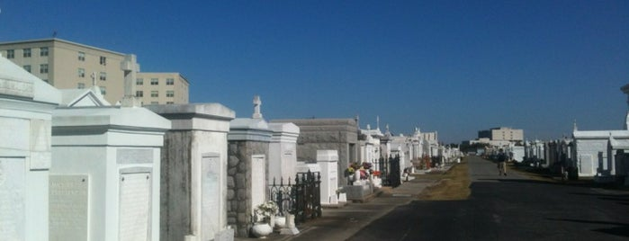 St. Louis Cemetery No. 3 is one of Izzy's NOLA Places.