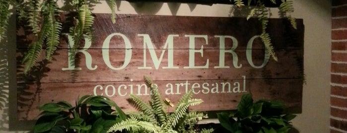 Romero Cocina Artesanal is one of RESTAURANTES MEDELLIN.