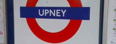 Upney London Underground Station is one of District Line.