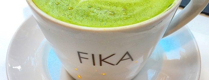 FIKA Espresso Bar is one of Espresso - Manhattan < 23rd.