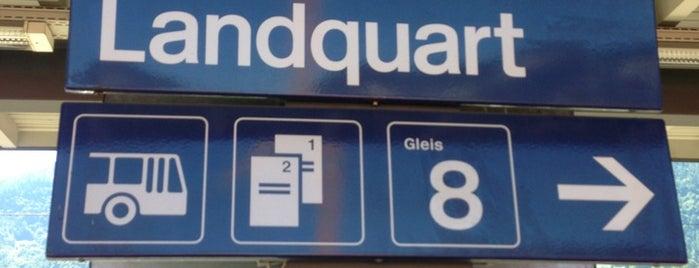 Bahnhof Landquart is one of Bahnhöfe.