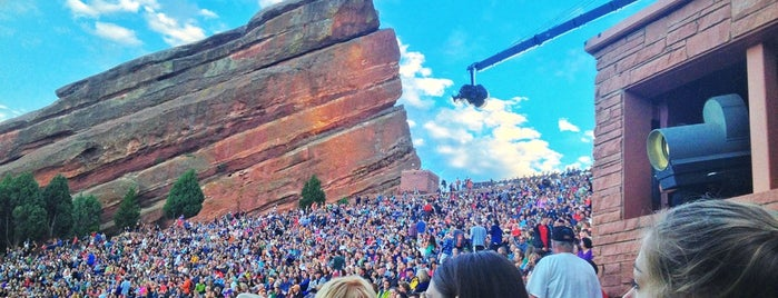 Red Rocks Park & Amphitheatre is one of Best Free Stuff in Denver.