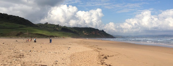 Playa de Vega is one of Les chemins de Compostelle.
