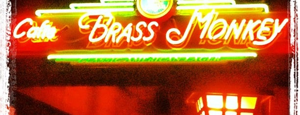 Cafe Brass Monkey is one of places to go and drinks to drink.