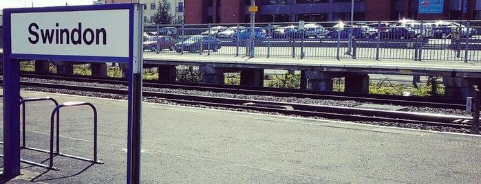 Swindon Railway Station (SWI) is one of Summer in London/été à Londres.