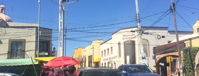Tequisquiapan is one of Ruta queso y vino Qro..
